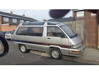 "Toyota Masterace 2.0 diesel, ""h"" reg, automatic, 8 seater"