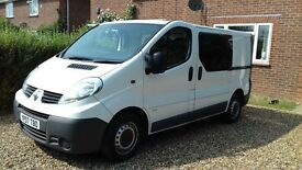 2007 renault traffic van 87,0000miles