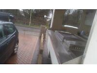 Large clean burger van with brand new generator