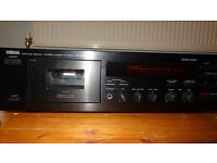 Yamaha KX 390 Stereo Cassette Deck - complete in orginal box with owners manual