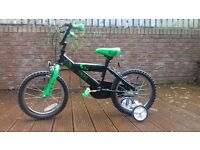 Brand new 16 inch Spike junior bicycle