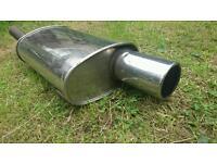 Exhaust back box