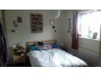 Light, calm double room to rent for 3 months in calm, vedgie houseshare in St.George!