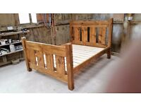 King Size Wooden Bed ex display