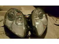 Fiat Bravo headlights.