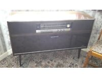 Grundig Radio Player Turntable Cabinet Sideboard Vintage Retro - DELIVERY AVAILABLE