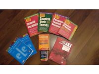 Free Spanish Package - Text Books, Exercise Books, CDROM, Dictionary - Beginner to Intermediate
