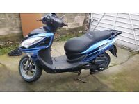 Lexmoto FMS 125cc Scooter - Only 7 Months Old
