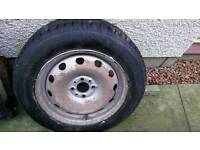 Vauv combo wheel and tyre