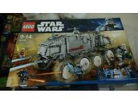 lego 8098 star wars clone turbo tank rare