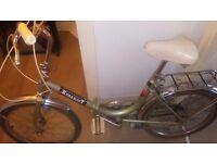 Viscount vintage fold up bike