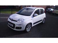 2015/65 FIAT PANDA LOUNGE IN BRILLIANT WHITE LIKE NEW!!! 2400 MILES ONLY