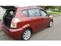 2005 TOYOTA COROLLA VERSO D4D TSPIRIT RED 2.0 DIESEL-7 SEATER