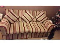Laura Ashley sofa and love seat suite