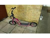 Girls bmx scooter