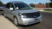 2007 nissan Quest SL 3.5  LEATHER/TV-DVD-POWER DOORs