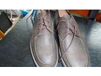 Debenhams Maine brown shoes size 12