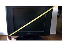 MONITOR AND FREE DIGIBOX GRUNDIG COMPUTER TV