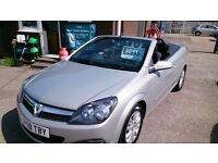 CONVERTIBLE 2008 VAUXHALL ASTRA TWIN TOP SPORT 1.6 MET BEIGE/GOLD MAY 2017 MOT ONLY 78K S/H CD E/W +
