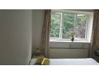 Double room to rent opposite Putney Heath. Share bathroom and Kitchen and no bills.