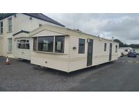 Starter Caravan For sale on a small, quiet park