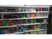 Shop display fridge