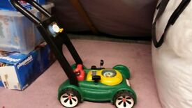 Little tikes lawnmover
