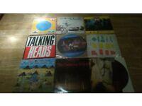 12 x talking heads vinyl LP's / cds / cassette collection