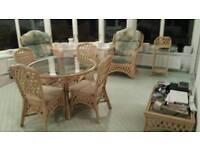 Conservatory set of furniture