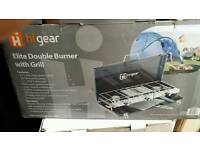 Hi gear double burner and grill