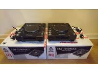 CDJ1000mk3 Pair - Great Condition +Boxed