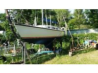 Achillies sail boat.