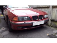 BMW 523i auto yr2000 - MOT failure. Welding cost and minor suspension work forces sale. Runs great.