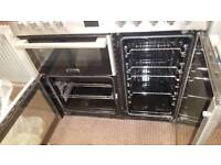 LEISURE 90CM WIDE DUAL FUEL COOKING RANGE DOUBLE OVEN WITH GRILL FREE DELIVERY AND WARRANTY