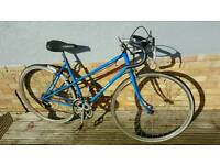 Ladies Road Bike. Vintage Motobecane bicycle