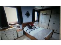exceptionally spacious double bedroom with fitted wardrobe AB10