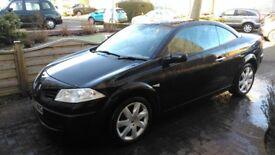 2007 1.6 16V VVT Renault Megane Dynamique Convertible Hardtop in excellent condition