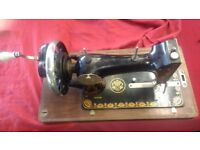 HARRIS NO 1 H (FOREIGN) ANTIQUE MANUAL SEWING MACHINE IN WORKING CONDITION AVAILABLE FOR SALE