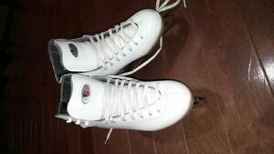 riedell figure skates size 1 1/2 $40