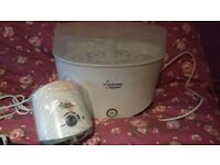 Tommee tippee electric bottle warmer, and sterlizer excellent condition