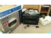 Two Epson xp322 inkjet printers-spares or repairs