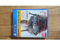 The witcher 3 wild hunt game of year edition ps4