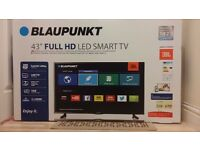 """Blaupunkt Smart Wifi - 43"""" Full HD LED TV with Freeview HD"""