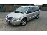 2002 MPV 110,000 miles Automatic 3.3L Petrol