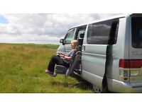 7-seater 2.5 litre V6 Mazda Bongo with easy access seat and blank canvas for motor home conversion