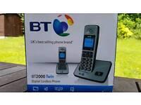 Pair of cordless phones BT2000