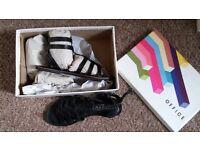 Size 6 Office Black Gladiator Sandals