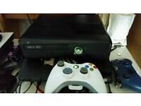 Xbox 360 slim, 12m live, 24 games