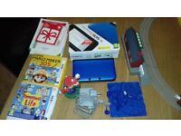 Nintendo 3ds console black & blue excellent condition.