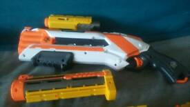 NERF play gun